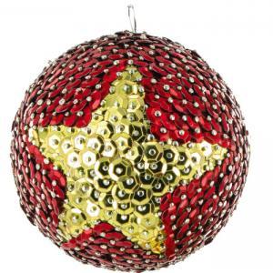 Boules pailletées pour les fêtes