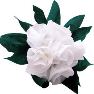 Réaliser un beau bouquet de roses blanches pour la fête des mères, la fête des pères, Noël, la Saint Valentin ou pour un anniversaire. Le bouquet de roses peut-être offert &agrave