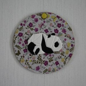 Un joli cadre récup à faire avec un panda en 3D