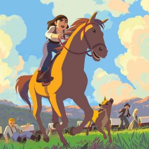 1863, dans un convoi qui progresse vers l'Ouest avec l'espoir d'une vie meilleure, le père de Martha Jane se blesse. C'est elle qui doit conduire le chariot familial et soigner les chevaux. L'apprentissage est rude et pourtant Martha Jane ne s'est jamais