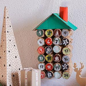 Découvrez comment créer un calendrier de l'Avent fait maison grâce à TAM.com