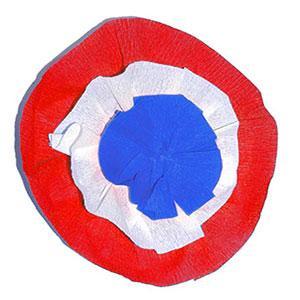Cocarde tricolore 14 juillet