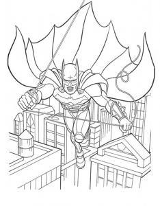 Coloriage Batman (super héro)