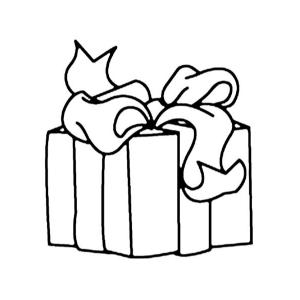 Vous cherchez un coloriage de cadeau ? Voici une collection de coloriages et dessins représentant des cadeaux.