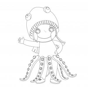 Voici le coloriage carnaval ! Un dessin à imprimer sur le thème du Carnaval et de mardi gras - Page 21