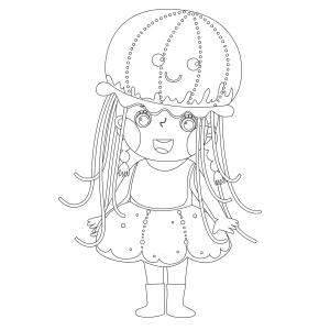 Voici le coloriage carnaval ! Un dessin à imprimer sur le thème du Carnaval et de mardi gras - Page 22