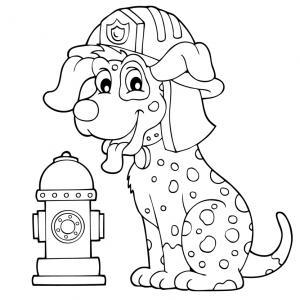 Voici un coloriage loup à imprimer gratuitement. Un dessin de loup à imprimer pour tous les petits amoureux des animaux. Page 5