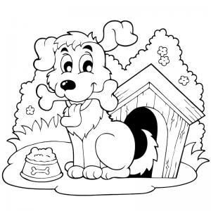 Voici un coloriage loup à imprimer gratuitement. Un dessin de loup à imprimer pour tous les petits amoureux des animaux. Page 6