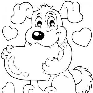 Voici un coloriage loup à imprimer gratuitement. Un dessin de loup à imprimer pour tous les petits amoureux des animaux. Page 2