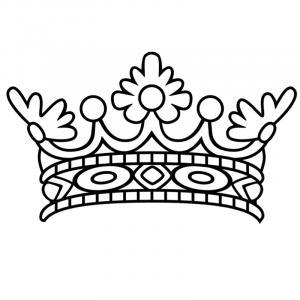 Voici un coloriage de galette des rois. Un dessin à imprimer gratuitement pour tous les petits amoureux de l'épiphanie et du jour des rois. Page 1