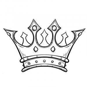 Voici un coloriage de galette des rois. Un dessin à imprimer gratuitement pour tous les petits amoureux de l'épiphanie et du jour des rois. Page 3