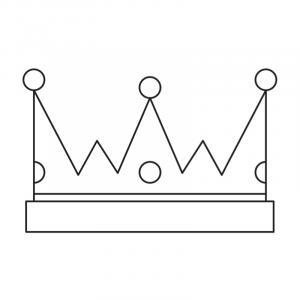 Voici un coloriage de galette des rois. Un dessin à imprimer gratuitement pour tous les petits amoureux de l'épiphanie et du jour des rois. Page 4