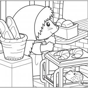 Maman hérisson prépare le pain pour les Sylvanian
