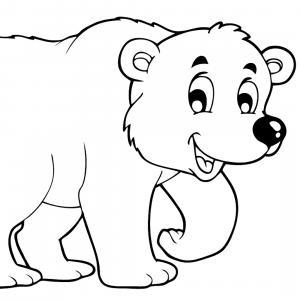 coloriage de monsieur l'ours