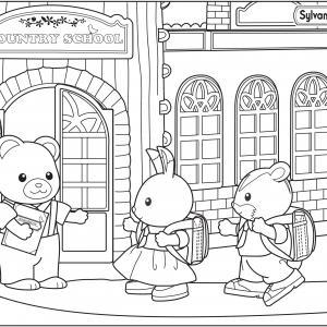 La fille lapin et le fils écureuil font leur rentrée des classes