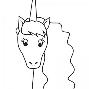 Imprimez facilement un coloriage licorne ou un dessin de licorne à vos enfants grâce à notre sélection de coloriages.