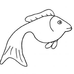 Imprimer le coloriage d'un poisson d'avril 3. Un poisson à imprimer pour faire des blague le 1er avril