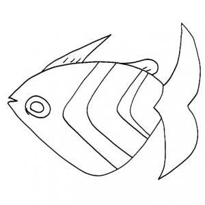 Imprimer le coloriage poisson d'avril 6 Image à imprimer pour le 1er avril