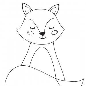 Retrouvez un coloriage de cerf ! Un dessin à imprimer gratuitement sur le thème des animaux de la forêt - Page 04