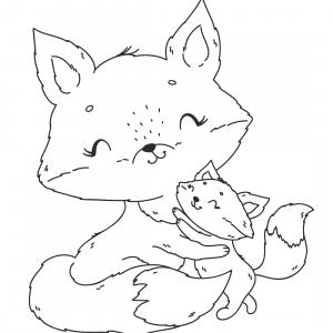 Retrouvez un coloriage de cerf ! Un dessin à imprimer gratuitement sur le thème des animaux de la forêt - Page 09