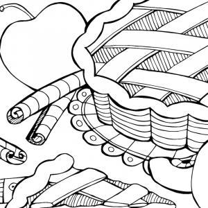 Voici un coloriage de galette des rois. Un dessin à imprimer gratuitement pour tous les petits amoureux de l'épiphanie et du jour des rois.