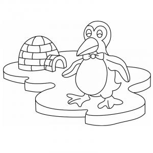 Trouvez votre coloriage de pingouin facilement grâce à notre sélection de dessins à imprimer. De quoi faire plaisir aux enfants qui aiment l'hiver, le froid, les animaux de la banquise et le Pôle Nord.