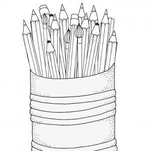 Découvrez un coloriage pour la rentrée scolaire afin de préparer votre enfant à l'école.