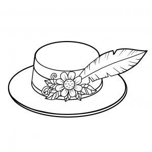 Imprimez votre coloriage de Sainte Catherine gratuitement et proposez à votre enfant de colorier une catherinette ou des chapeaux pour fêter la Sainte Catherine  - Page 4