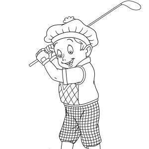 Coloriage sport : un dessin à imprimer avec des enfants sportifs. Un coloriage gratuit pour les petits amoureux du sport - Page 3