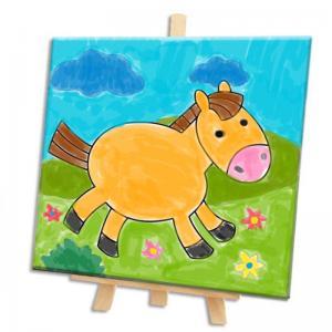 Coloriage sur toile pour peintres débutants
