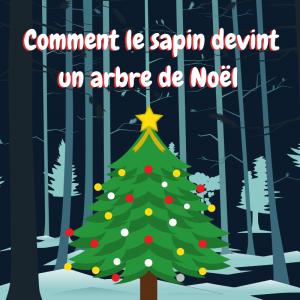 Découvrez l'histoire de comment le sapin devint un arbre de Noël. C'est une histoire à raconter durant le mois de décembre avant de mettre vos enfants dans l'ambiance de Noël.