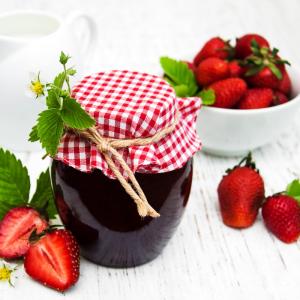 confiture fraise aux épices