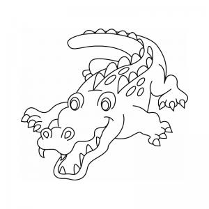 Crocodile dessin : vous cherchez un dessin de crocodile ? Tous les coloriages sur les familles de crocodiles. Avec ces coloriages , les enfants apprendront à distinguer les crocodiles, les alligators et les caïmans qu'ils soient d'Afrique, dAsie, d'Océani