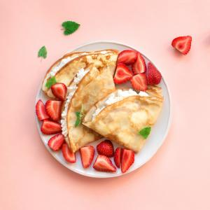 Recette de pâte à crêpes sans oeuf. Cette recette vous permettra de cuisiner des crêpes même si vous n'avez pas d'oeufs.