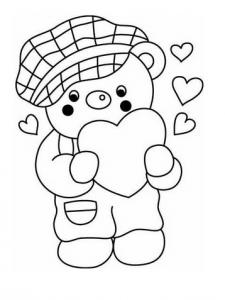Coloriage ourson : retrouvez nos dessins à imprimer gratuitement avec des jolis oursons.