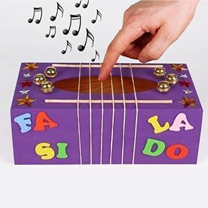 Pour la fete de la musique voici une sélection de produits indispensables pour vos activités manuelles musicales à faire avec les enfants! Des articles pour réaliser des tam-tams, des tambourins, trompettes… Ces instruments sont simples d'utilisation et
