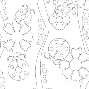 Dessin coccinelle : un coloriage de coccinelle à proposer aux enfants qui aiment ces petits insectes - Page 6