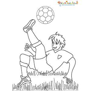 Dessin d'un joueur de l'Euro 2016