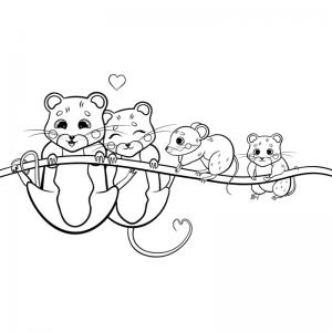 Voici un dessin de Fête des pères trop mignon pour faire plaisir à papa. Imprimez votre coloriage gratuitement. Page 09