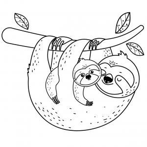 Voici un dessin pour maman à imprimer gratuitement. Un dessin pour faire plaisir à la fête des mères ou pour un anniversaire. - Page 3