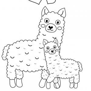 Voici un dessin pour maman à imprimer gratuitement. Un dessin pour faire plaisir à la fête des mères ou pour un anniversaire. - Page 7