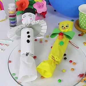 Une idée de bricolage pour réaliser des suprises de Carnaval à vos enfants