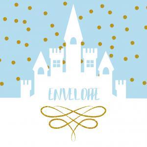 Imprimez votre enveloppe pour pouvoir inviter tout le monde au meilleur anniversaire de princesse du monde. Il suffira de l'imprimer sur une feuille A4 et de la monter afin de pouvoir y glisser l'invitation copie