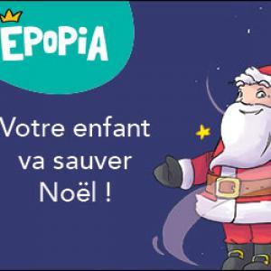 Épopia lance sa mission Noël. Votre enfant aura une réponse à sa lettre au Père Noël et sera plongé dans une aventure unique où lui seul pourra sauver Noël et le Père Noël.
