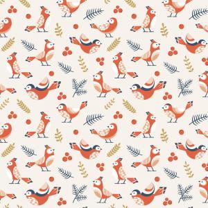 Couverture de carnet à imprimer gratuitement avec des motifs d'oiseaux pour personnaliser les carnets et cahiers. Une manière de ne jamais se lasser de ses cahiers et carnets.