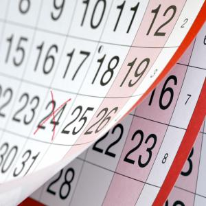 Fêtes mobiles, dates des fêtes mobiles