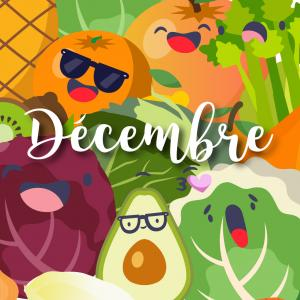 Consommer des fruits et légumes de saison c'est bon pour l'environnement mais aussi pour vous ! Endive, chou rouge, kiwiou encore salsifi : retrouvez notre jolie liste des fruits et légumes de décembre. Vous pourrez même l'imprimer et la coller sur le fri