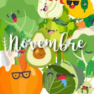 Consommer des fruits et légumes de saison c'est bon pour l'environnement mais aussi pour vous ! Endive, chou frisé, grenade ou encore salsifi : retrouvez notre jolie liste des fruits et légumes de de novembre. Vous pourrez même l'imprimer et la coller sur