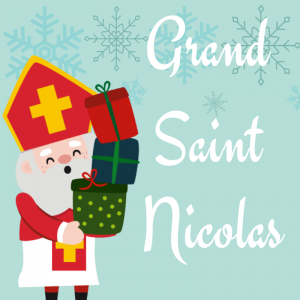 Chanson Grand Saint Nicolas pour chanter avec les enfants. Découvrir une nouvelle version des chansons de Saint Nicolas. Paroles avec version pour carnet de chants.