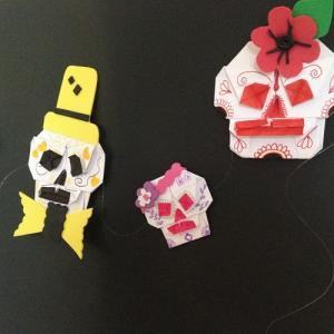 Un tuto pour apprendre à faire des Têtes de mort en origami